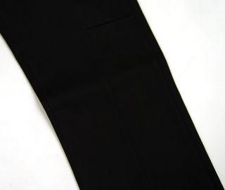 DAMIR DOMA Black Cotton Dress PANTS 48 NWOT