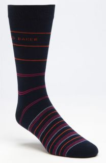 Ted Baker London Tiered Stripe Socks (3 for $40)