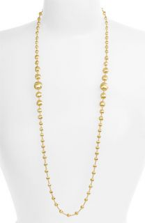Marco Bicego Africa Gold Graduated Long Strand Necklace