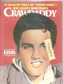 Crawdaddy Elvis Presley Bob Seger Rolling Stones Steely Dan 1977