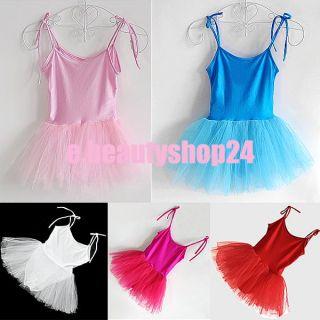 Fairy Ballet Dance Leotard Dancewear Tutu Skate Dress Skirt