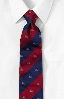 Burberry Logo Wide Stripe Tie