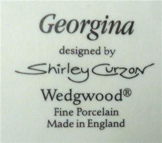 Wedgwood Lady Figurine Georgina Matt Shirley Curzon