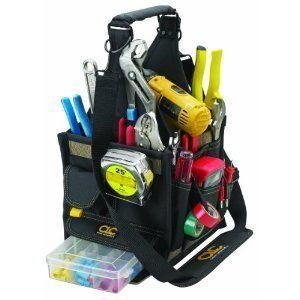 Custom LeatherCraft 1526 23 Pocket Electrical and Maintenance Tool