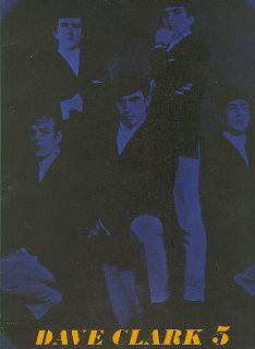 dave clark 5 1964 u s tour concert program book