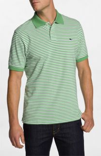 Vineyard Vines State Line Stripe   Classic Piqué Knit Polo