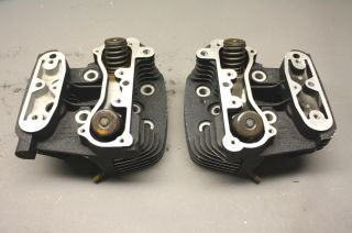 Davidson / Buell Thunderstorm High Flow Cylinder Heads Complete PAIR