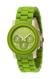 Michael Kors Green Catwalk Chronograph Watch
