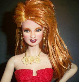 OOAK Cyndi Lauper Barbie Doll Repaint Girls Just Wanna Have Fun 80s