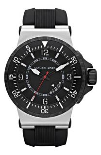 Michael Kors Major Large Silicone Strap Watch