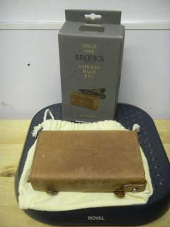 Brooks Saddles D Shaped Tool Bag Antique Brown New