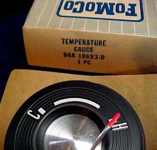 NOS 1956 Ford Crown Victoria Fairlane Temperature Gauge