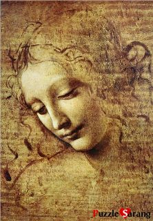 Jigsaw Puzzles 1000 Pieces Female Head Leonardo Da Vinci