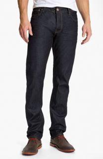 Ted Baker London Straight Leg Jeans (Rinse Denim)