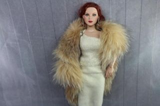 Crystal Fox Fur Boa 4 Evangeline Ghastly DeeAnna Denton and CED Dolls