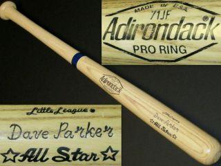 Dave Parker Pittsburgh Pirates Reds Unused 1980s 29Adirondack Wood