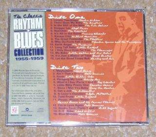 Classic Rhythm Blues Collection 1955 1959 2 CD Set Time Life 2000 R604