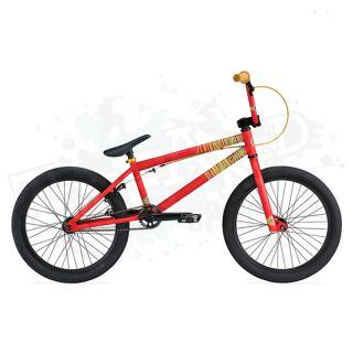 the brand new 2012 complete kink curb bmx bike in matte red