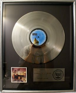 Animals RIAA Platinum FLOATER Record Award DaViD GiLmOuR rOgEr wAtErS