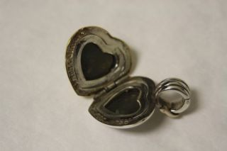 DAVID YURMAN 18K Yellow Gold & Sterling Silver Heart Locket Enhancer