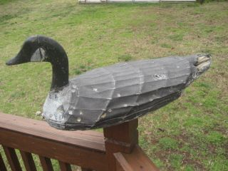 Antique North Carolina VA Currituck Canvas GOOSE Duck Hunting Decoy