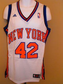NEW David LEE #42 New York KNICKS Mens MEDIUM M Adidas SWINGMAN Sewn
