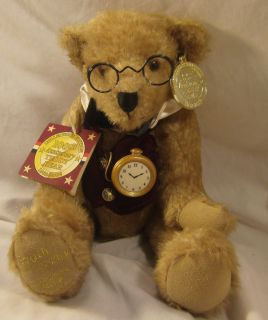 Dan Dee Collectors Choice Teddy Bear Watch Glasses 100th Anniversary