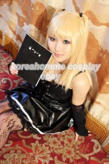 Death Note Cosplay Wig Amane Misa Long Light Blonde