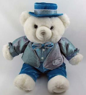 22 2004 Dan Dee Plush Teddy Bear Stuffed Toy Animal in Tuxedo Bowtie