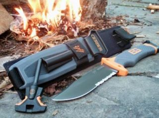 Gerber Bear Grylls Ultimate Survival Knife Fixed Blade Model 31 000751
