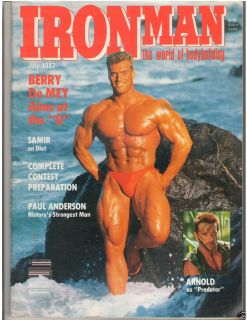 Ironman Bodybuilding Muscle Fitness Magazine Berry de Mey 7 87