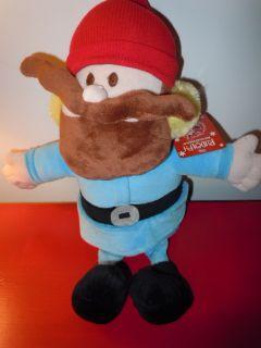 New YUKON CORNELIUS Rudolph Movie PLUSH TOY Dan Dee 2011 NWT