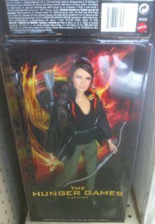 The Hunger Games Katniss Barbie Doll Collectors Black Label Licensed