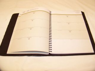 Franklin Covey Day One Leather Monthly Weekly Planner Unused