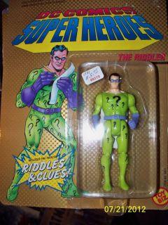 Kenner Batman The Riddler (DC Comics Super Heros) Action Figure