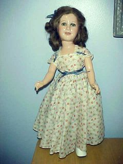VINTAGE ORIGINAL IDEA DEANNA DURBIN DOLL LARGE HOLLYWOOD ERA