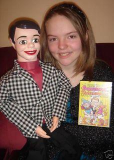 32 Pro Danny ODay Ventriloquist Doll (figure) w/ DVD