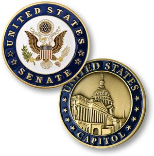 United States Senate Washington DC New Challenge Coin