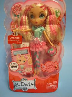 La Dee Da Sweet Party Cyanne Peppermint Pose Doll 2012 Hot Christmas