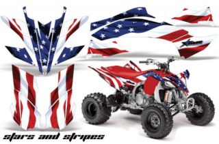 AMR ATV Graphics Decal Kit Yamaha YFZ 450 YFZ450 Quad