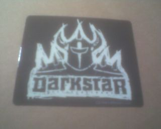 Darkstar 3x2 Vinyl Bumper Sticker Decal master urethane wheels