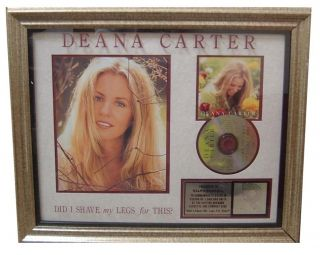 Deana Carter RIAA Platinum Record Award Presented to Ralph Carroll