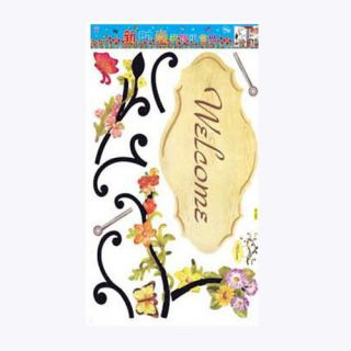 decorative wall decal sticker welcome sign wall stickers