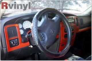 Dash Kit Decal Auto Interior Trim Dodge Ram Quad Cab 2002 2005