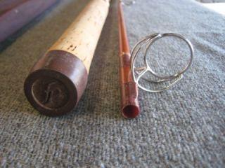 VINTAGE FENWICK FS70 FISHING ROD POLE 7  W/ SOCK & CASE 2 PIECE