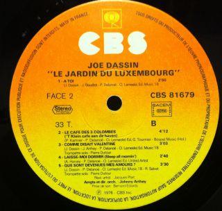 Le ran du chabrier on popscreen - Joe dassin le jardin du luxembourg ...