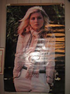 Blondie Debbie Harry 1979 Scotland Poster