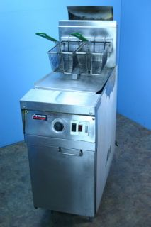 Frymaster Commercial Deep Fat Fryer Model MJ145ESD Natural Gas