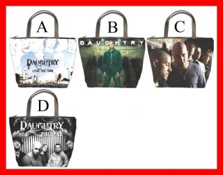 Daughtry Rock Band Hot Bucket Bag Handbag Purse Pick 1