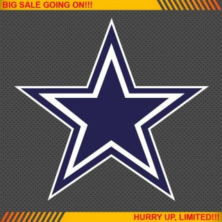 Dallas Cowboys NFL Football Logo Car Bumper Window Wall Sticker